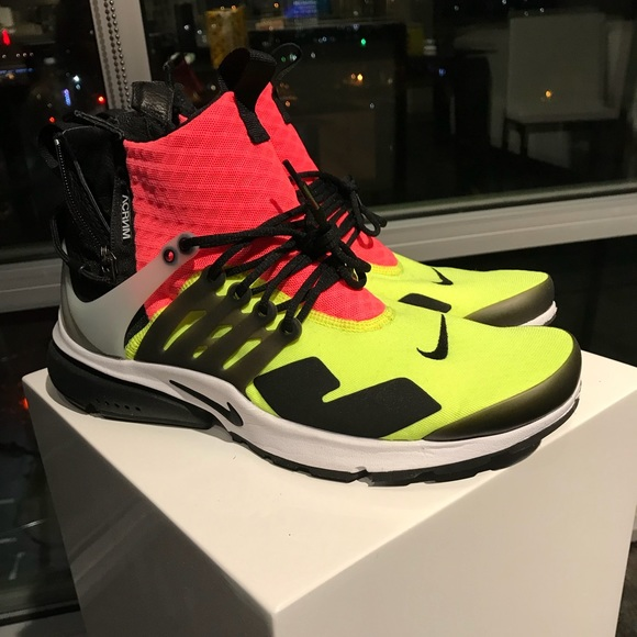 46c1d1468151 ... coupon for nike air presto acronym volt size 10.5 edaad 1ddc2